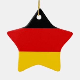 Flag of Germany Deutschland Ceramic Ornament