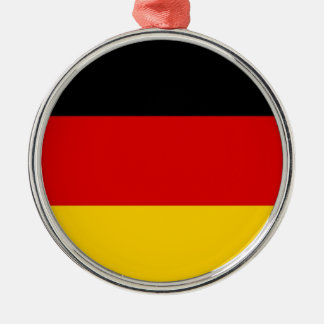Flag of Germany Deutschland Metal Ornament