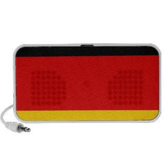 Flag of Germany Deutschland Portable Speaker