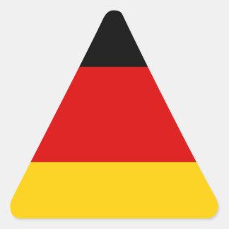 Flag of Germany Deutschland Triangle Sticker