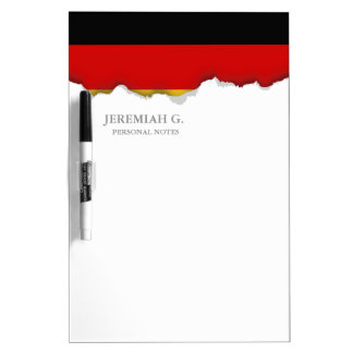 Flag of Germany Dry-Erase Board