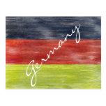 Flag of Germany - German Flag - Personalise Postcards
