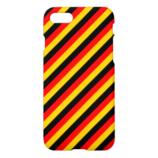 Flag of Germany Inspired Colored Stripes Pattern iPhone 7 Case