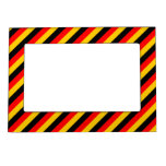 [ Thumbnail: Flag of Germany Inspired Colored Stripes Pattern ]