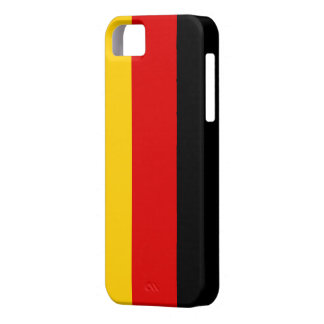 Flag of Germany iPhone 5 Case-Mate Barely There™ iPhone 5 Cases