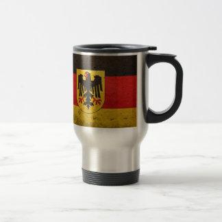 FLAG OF GERMANY. 15 OZ STAINLESS STEEL TRAVEL MUG