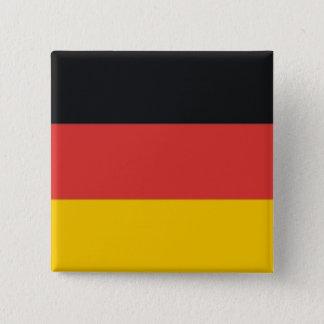 Flag of Germany or Deutschland Button