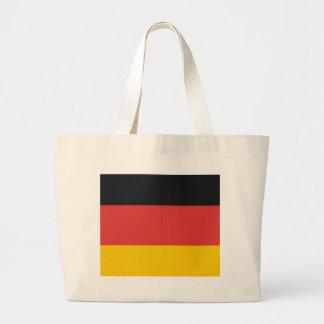 Flag of Germany or Deutschland Large Tote Bag