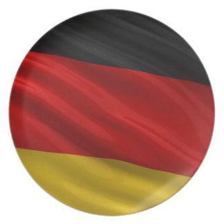 Flag of Germany Plate