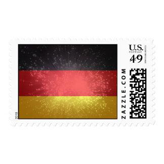 Flag of Germany Postage Stamp
