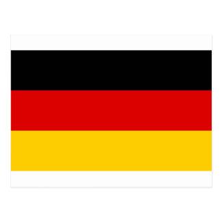 Flag of Germany Postcard
