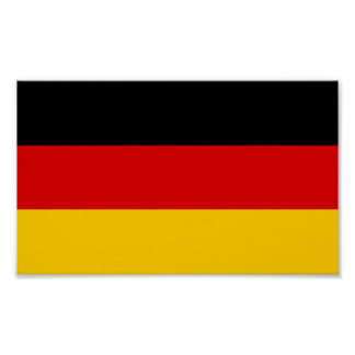 Flag of Germany Poster