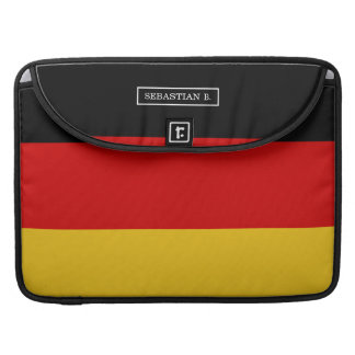 Flag of Germany Sleeve For MacBook Pro