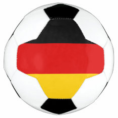 Flag of Germany Soccer Ball at Zazzle