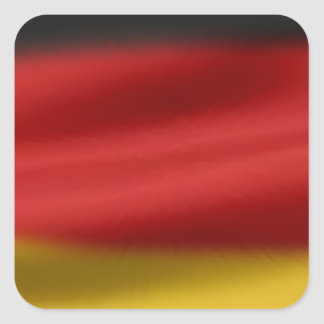 Flag of Germany Square Sticker