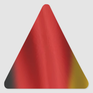 Flag of Germany Triangle Sticker