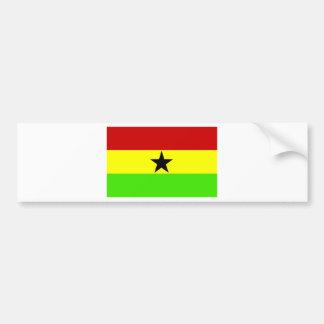 Flag of Ghana Bumper Sticker