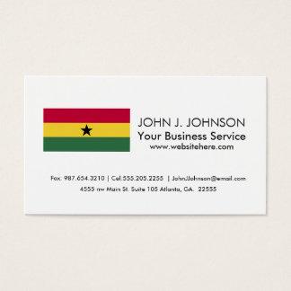 Flag of Ghana Business Card