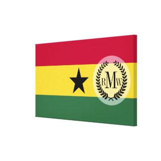 Flag of Ghana Canvas Print