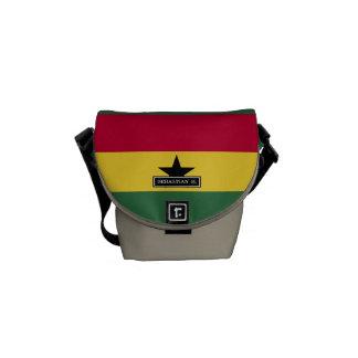 Flag of Ghana Courier Bag