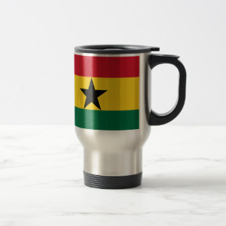 Flag of Ghana - Ghanaian Flag - African Flag Travel Mug