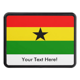 Flag of Ghana Hitch Cover