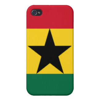 Flag of Ghana Covers For iPhone 4