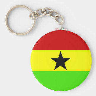 Flag of Ghana Keychains