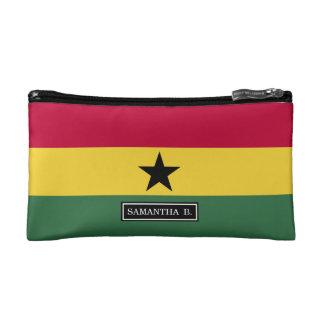 Flag of Ghana Makeup Bag
