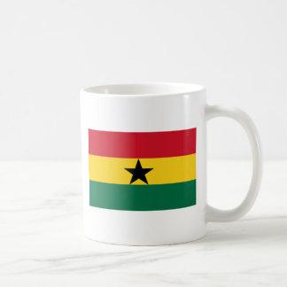 Flag of Ghana Classic White Coffee Mug