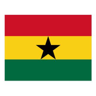 Flag of Ghana Postcard