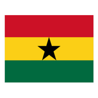 Flag of Ghana Post Cards