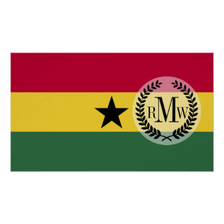 Flag of Ghana Poster