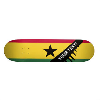 Flag of Ghana Skateboard
