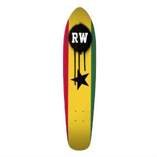Flag of Ghana Skateboard Deck