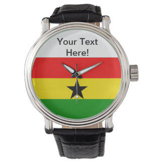 Flag of Ghana Wrist Watches