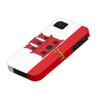Flag of Gibraltar Vibe iPhone 4 Cases