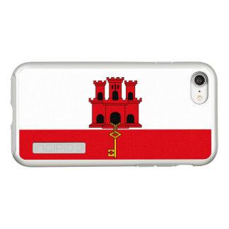 Flag of Gibraltar Silver iPhone Case