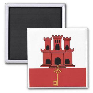 Flag Of Gibralter Magnet