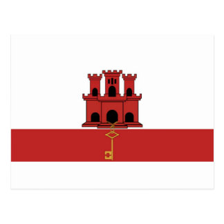 Flag Of Gibralter Post Cards