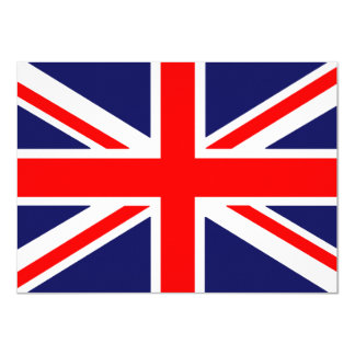 Flag Of Great Britain Card