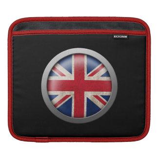 Flag of Great Britain Disc iPad Sleeves