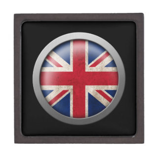 Flag of Great Britain Disc Premium Gift Boxes