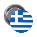 Flag of Greece 2 Inch Round Button