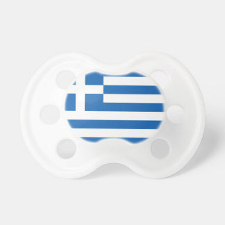 Flag of Greece Baby Pacifier
