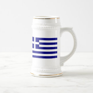 Flag of Greece Beer Stein