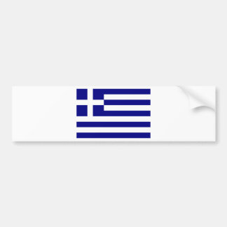 Flag of Greece Bumper Sticker