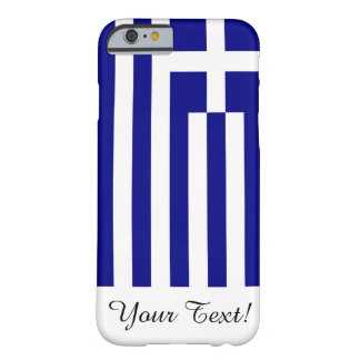 Flag of Greece Barely There iPhone 6 Case