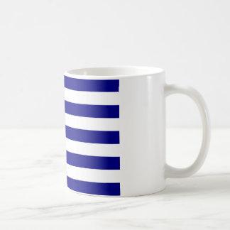 Flag of Greece Classic White Coffee Mug