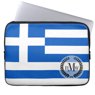 Flag of Greece Computer Sleeve